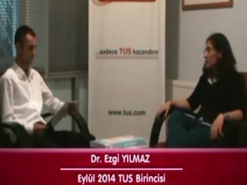 Eylül 2014 TUS 1.'si - Dr. Ezgi YILMAZ