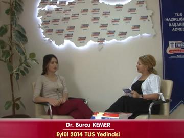 Eylül 2014 TUS 7.'si - Dr. Burcu KEMER