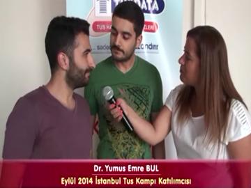 Dr. Ömer ve Dr. Yunus - Eylül 2014 İstanbul TUS Kampı