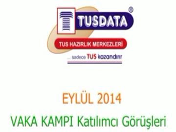 Eylül 2014 İzmir Vaka Kampı Katılımcılarının Genel Görüşleri