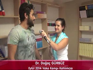 Dr. Doğaç GÜRBÜZ - Eylül 2014 İzmir Vaka Kampı Katılımcı Röportajları