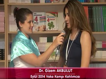 Dr. Gizem AKBULUT - Eylül 2014 İzmir Vaka Kampı Katılımcı Röportajları