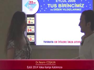 Dr. Nesrin COŞKUN - Eylül 2014 Kadıköy Vaka Kampı