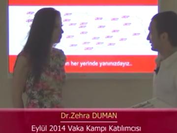 Dr. Zehra DUMAN - Eylül 2014 Kadıköy Vaka Kampı
