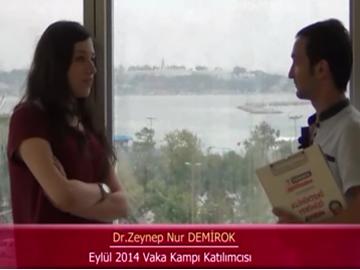Dr. Zeynep Nur DEMİROK - Eylül 2014 Kadıköy Vaka Kampı