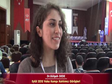 Dr. Gülşah DEDE - Eylül 2015 İstanbul Vaka Kampı Röportajları