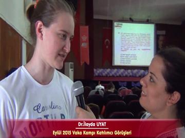 Dr. İlayda UYAT - Eylül 2015 İstanbul Vaka Kampı Röportajları