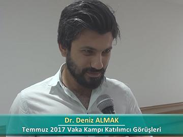 Dr. Deniz ALMAK - 2017 Yaz Dönemi Ankara Vaka Kampı Röportajları