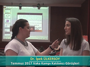 Dr. İpek ÜLKERSOY - 2017 Yaz Dönemi Haseki Vaka Kampı Röportajları
