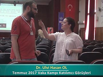 Dr. Ulvi Hasan OL - 2017 Yaz Dönemi Haseki Vaka Kampı Röportajları