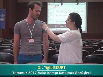 Dr. Yiğit İSKURT - 2017 Yaz Dönemi Haseki Vaka Kampı Röportajları