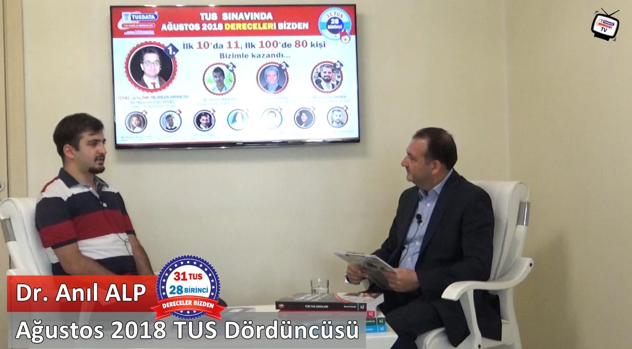 Ağustos 2018 TUS 4.'sü - Dr. Anıl ALP ile TUS'a Hazırlık Süreci