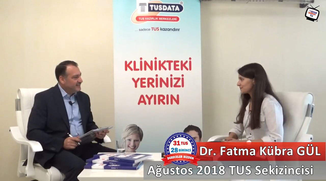 Ağustos 2018 TUS 8.'si - Dr. Fatma Kübra GÜL ile TUS'a Hazırlık Süreci