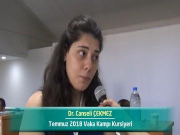 Dr. Canseli ÇEKMEZ - 2018 Yaz Dönemi Ankara Vaka Kampı Röportajları