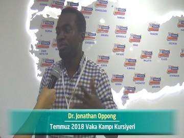 Dr. Jonathan OPPONG - 2018 Yaz Dönemi Ankara Vaka Kampı Röportajları