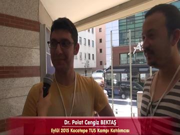 Dr. Polat ve Dr. Arda - Eylül 2015 TUS Kampı Röportajları