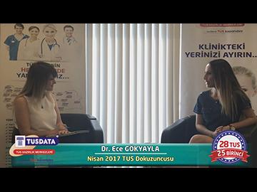 Nisan 2017 TUS Dokuzuncusu - Dr. Ece GÖKYAYLA