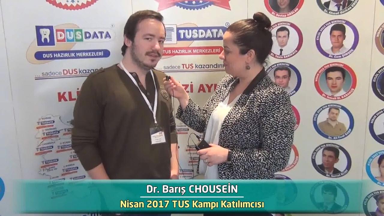 Dr. Barış CHOUSEIN - Nisan 2017 İstanbul TUS Kampı Röportajları