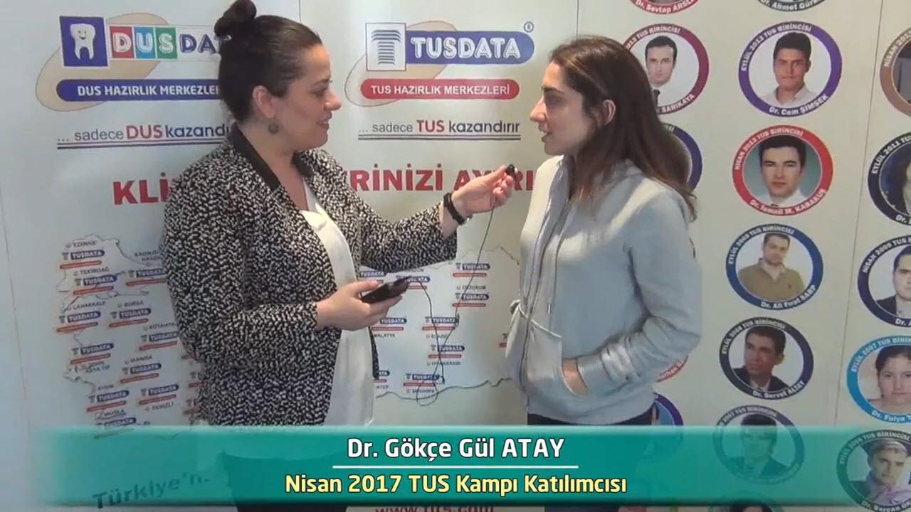 Dr. Gökçe Gül ATAY - Nisan 2017 İstanbul TUS Kampı Röportajları