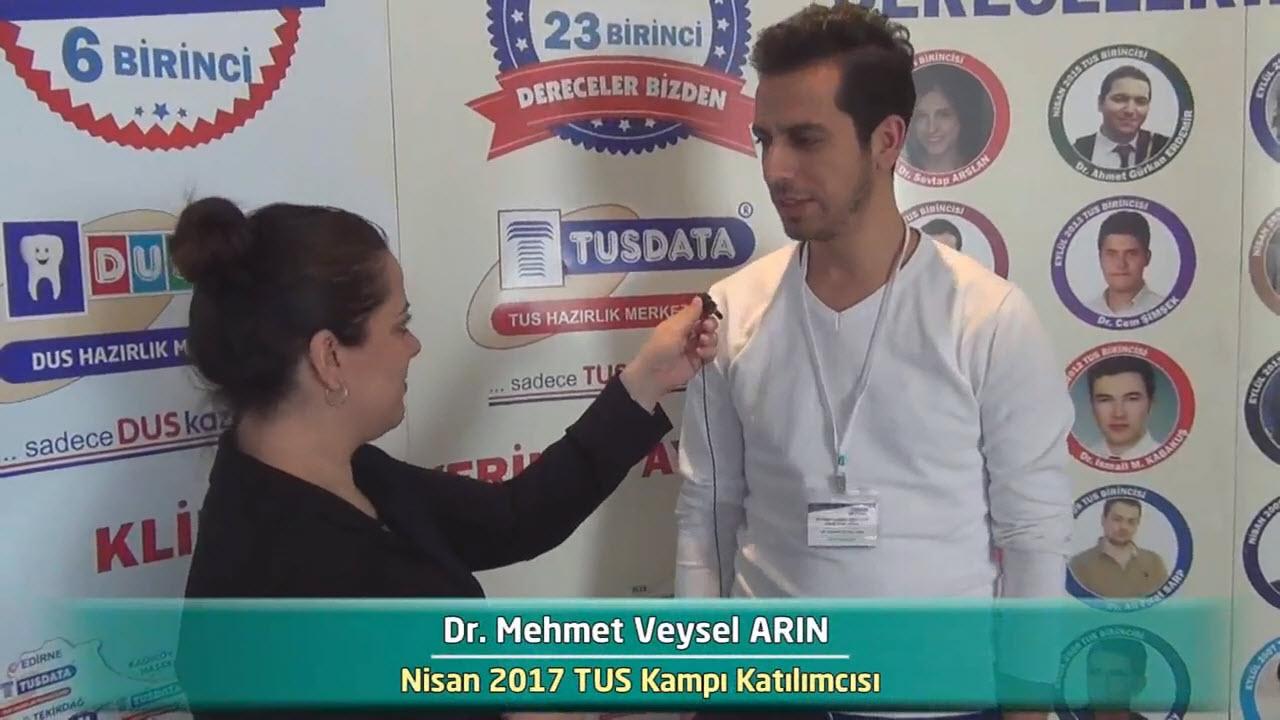 Dr. Mehmet Veysel ARIN - Nisan 2017 İstanbul TUS Kampı Röportajları