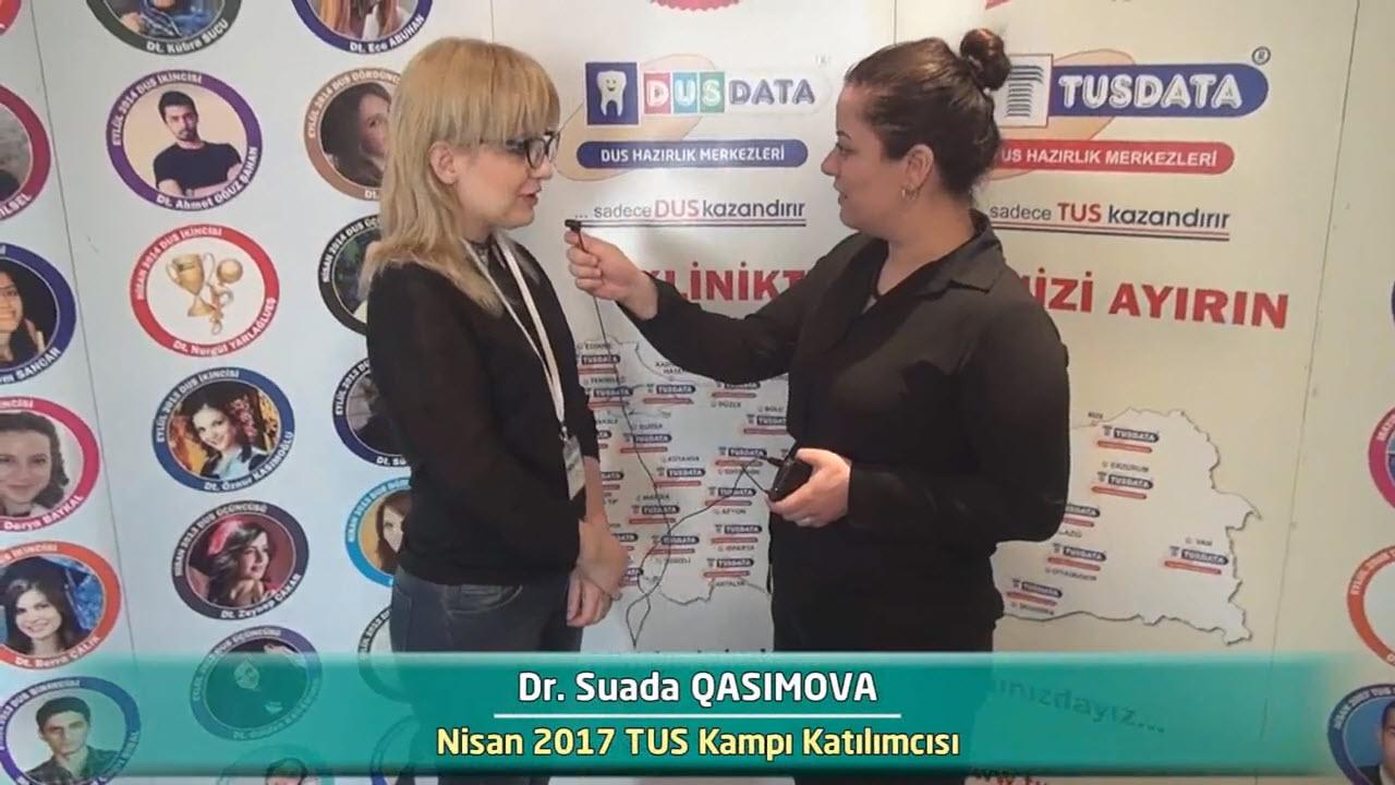 Dr. Suada QASIMOVA - Nisan 2017 İstanbul TUS Kampı Röportajları