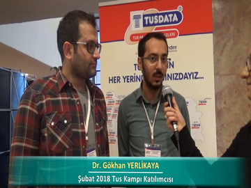Dr. Gökhan YERLİKAYA - Dr. Yusuf ÇİÇEK – İlkbahar 2018 Ankara TUS Kampı Röportajları