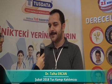 Dr. Talha ERCAN – İlkbahar 2018 Ankara TUS Kampı Röportajları