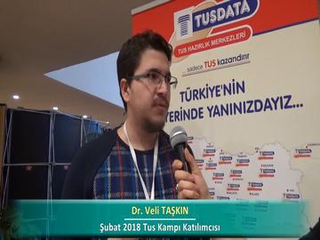 Dr. Veli TAŞKIN – İlkbahar 2018 Ankara TUS Kampı Röportajları