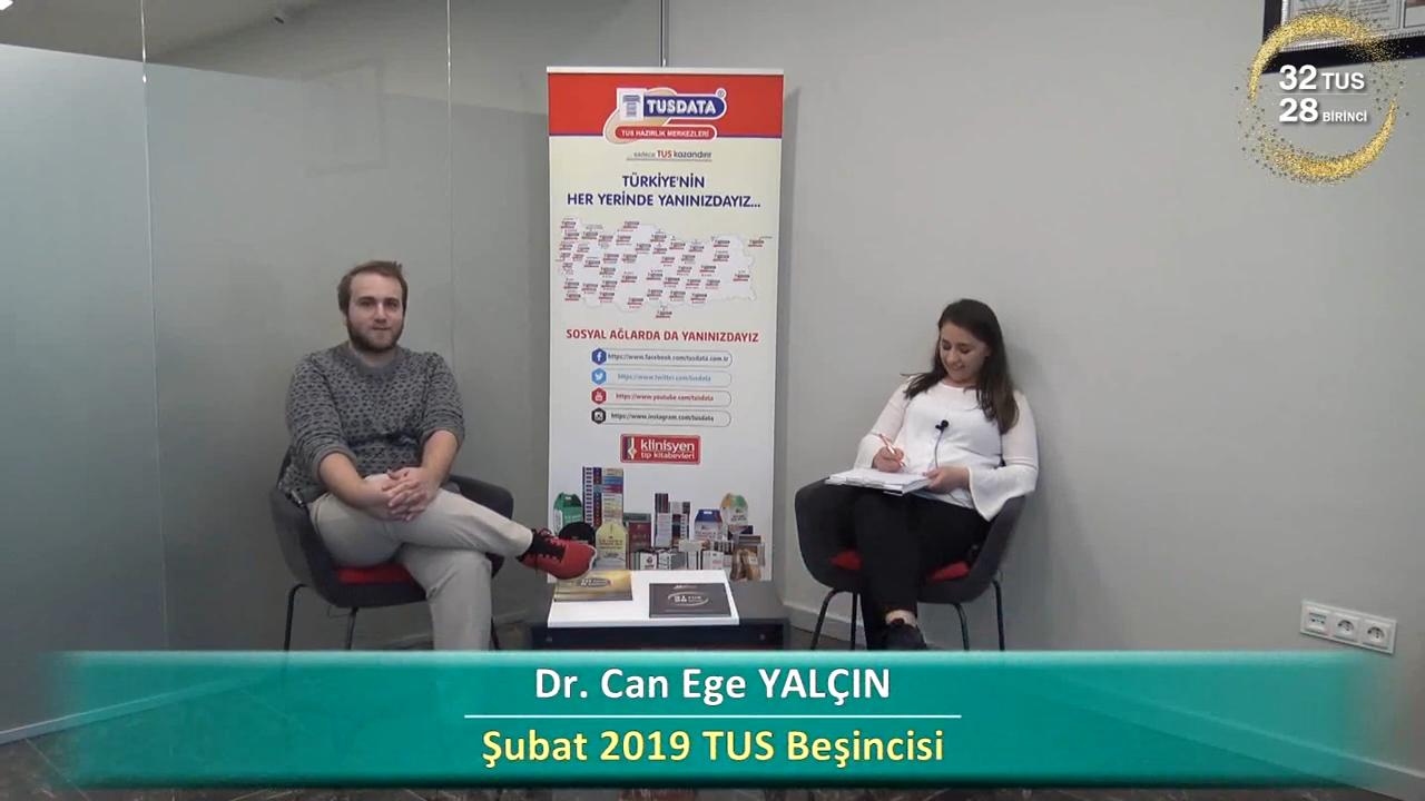 Şubat 2019 TUS 5.'si - Dr. Ege Can YALÇIN ile TUS'a Hazırlık Süreci