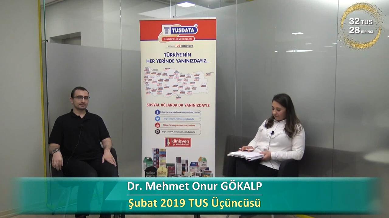 Şubat 2019 TUS 3.'sü - Dr. Mehmet Onur GÖKALP ile TUS'a Hazırlık Süreci