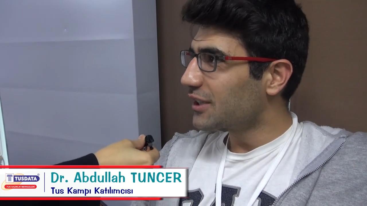 Dr. Abdullah TUNCER - Şubat 2019 TUS Kampı Röportajları