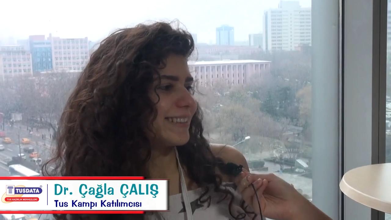 Dr. Çağla ÇALIŞ - Şubat 2019 TUS Kampı Röportajları