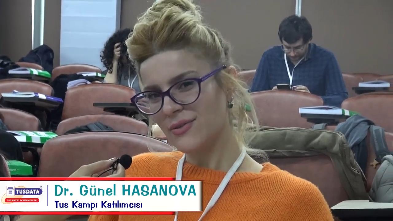 Dr. Günel HASANOVA - Şubat 2019 TUS Kampı Röportajları