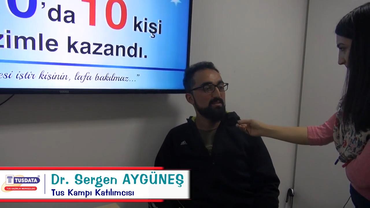 Dr. Sergen AYGÜNEŞ - Şubat 2019 TUS Kampı Röportajları