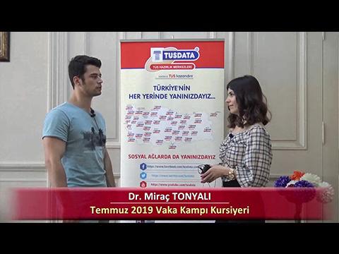 Dr. Miraç TONYALI - 2019 Yaz Dönemi İstanbul Vaka Kampı Röportajları